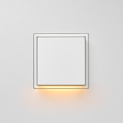 Plug & Light  | LS Zero LED Wall Luminaire white | Wall lights | JUNG