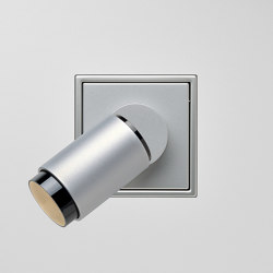 Plug & Light  | LS Zero LED Spotlight Aluminium | Wall lights | JUNG
