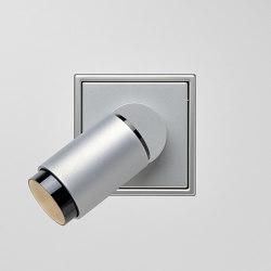 Plug & Light  | LS Zero LED Spotlight Aluminium | Lampade parete | JUNG