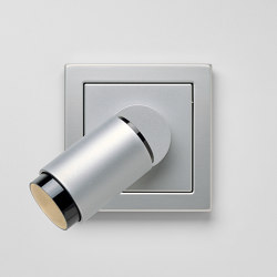 Plug & Light  | LS Design LED-Strahler Aluminium | Wandleuchten | JUNG