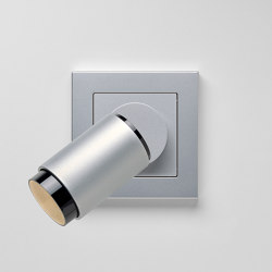 Plug & Light  | A Creation LED Spotlight Aluminium | Wall lights | JUNG