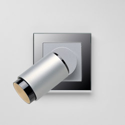 Plug & Light  | A Creation LED Spotlight Aluminium silver | Wall lights | JUNG