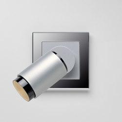 Plug & Light  | A Creation LED Spotlight Aluminium silver | Lampade parete | JUNG