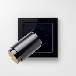 Plug & Light  | LS Design LED Spotlight black | Wall lights | JUNG