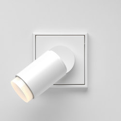Plug & Light | LS 990 LED Spotlight white | Lámparas de pared | JUNG