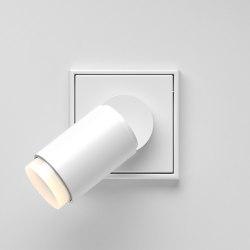 Plug & Light  | LS 990 Spotlight white | Lampade parete | JUNG