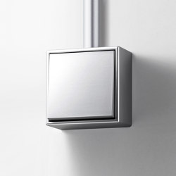 LS Cube | switch aluminium | Interruttore bilanciere | JUNG