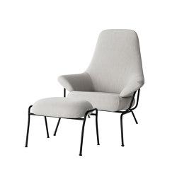 Hai Chair Shell + Ottoman | Poufs | Hem Design Studio