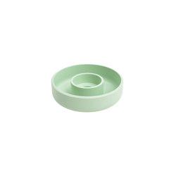 Punched Metal Candle Holder Pastel green | Candlesticks / Candleholder | Hem Design Studio