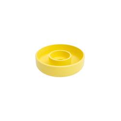 Punched Metal Candle Holder Yellow | Candlesticks / Candleholder | Hem Design Studio