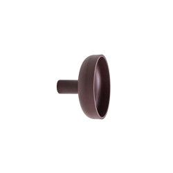 Punched Metal Hook Large Aubergine | Ganchos simples | Hem Design Studio