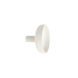 Punched Metal Hook Large White | Einzelhaken | Hem Design Studio