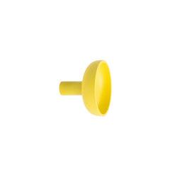 Punched Metal Hook Small Yellow | Einzelhaken | Hem Design Studio