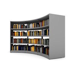 60/30 Round   Shelving   Lammhults Biblioteksdesign