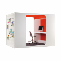 Cocoon Media-Lounge | Office Pods | Lammhults Biblioteksdesign