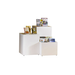 Maria Podium | Display stands | Lammhults Biblioteksdesign