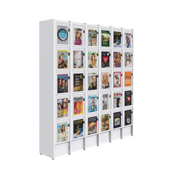 Ordrup Magazine Display Cabinet   Display stands   Lammhults Biblioteksdesign