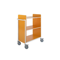Ven | Trolleys | Lammhults Biblioteksdesign