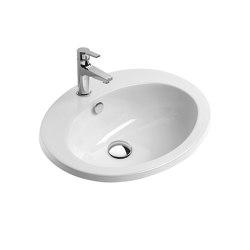 Fitted 61x51 | Waschtische | Ceramica Catalano