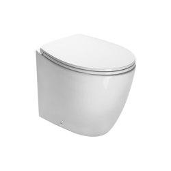 Velis Wc 57x37   WC   Ceramica Catalano