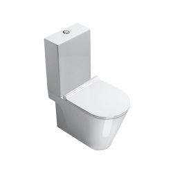 Zero Monobloc WC 62x35 | Inodoros | Ceramica Catalano