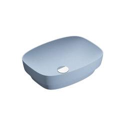 Green Lux 50x38 Satin Blue | Waschtische | Ceramica Catalano