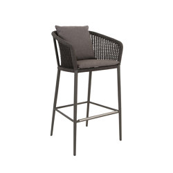 KNOT BARSTOOL WITH ARMS | Bar stools | JANUS et Cie