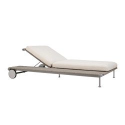 GINA CHAISE LOUNGE | Sun loungers | JANUS et Cie