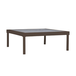 QUADRATL STONE TOP COCKTAIL TABLE SQUARE 110 | Coffee tables | JANUS et Cie