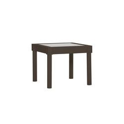 QUADRATL STONE TOP COCKTAIL TABLE SQUARE 56 | Tavolini alti | JANUS et Cie