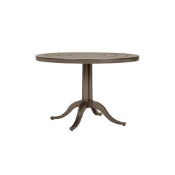 CHARLES CONTINENTAL TABLE ROUND 100 | Dining tables | JANUS et Cie