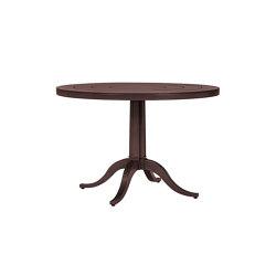 CHARLES CONTINENTAL TABLE ROUND 100 | Tavoli pranzo | JANUS et Cie