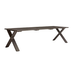 GET-TOGETHER TABLE 275 WITH UMBRELLA HOLE | Dining tables | JANUS et Cie