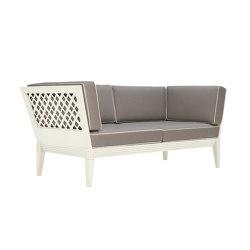 QUADRATL CLUB SOFA 2 SEAT | Canapés | JANUS et Cie