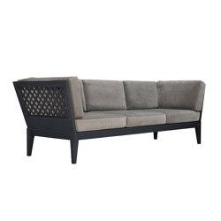 QUADRATL CLUB SOFA 3 SEAT | Sofas | JANUS et Cie