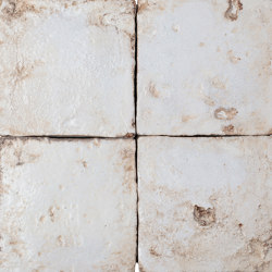 Medioevo | White | Ceramic tiles | Cotto Etrusco