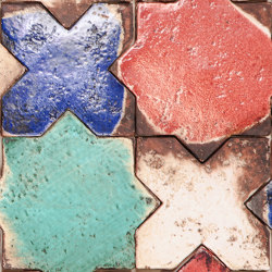 Medioevo | Stella Croce Colori | Ceramic tiles | Cotto Etrusco