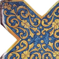 Medioevo | Decori Affreschi 05 | Piastrelle ceramica | Cotto Etrusco