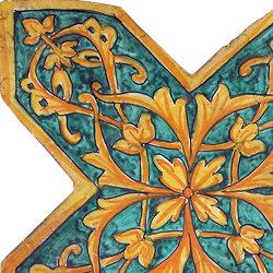 Medioevo | Decori Affreschi 07 | Piastrelle ceramica | Cotto Etrusco