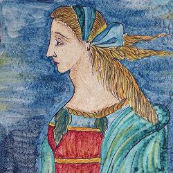 Medioevo | Decori Affreschi 16 | Baldosas de cerámica | Cotto Etrusco