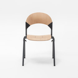 Gate Wood round chair 6000 | Chairs | Mara