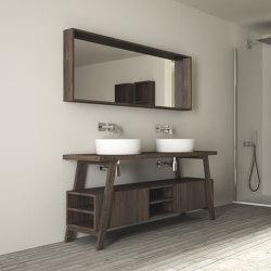 Grain cabinet 2 doors / 6 racks | Lavabos | Idi Studio