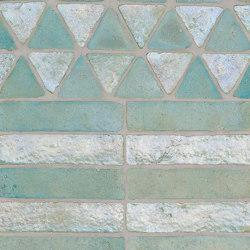 Glazes | Matt & Glossy | Mix Acquamarina Madreperla | Ceramic tiles | Cotto Etrusco