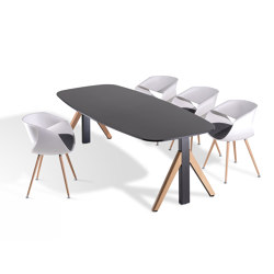 Winea Flow | Contract tables | WINI Büromöbel
