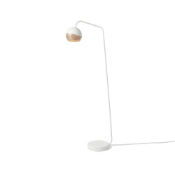 Ray Floor Lamp - White | Lampade piantana | Mater