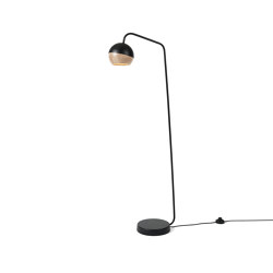 Ray Floor Lamp - Black | Lampade piantana | Mater