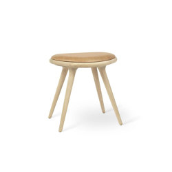 Low Stool - Natural Soaped Oak | Stools | Mater