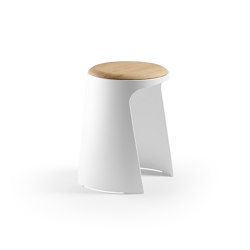 Hocker Handy Holzauflagen | Stools | Sellex