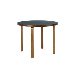 Aalto table round 90A | Dining tables | Artek