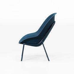 Nook PET Felt Lounge Chair | Poltrone | De Vorm